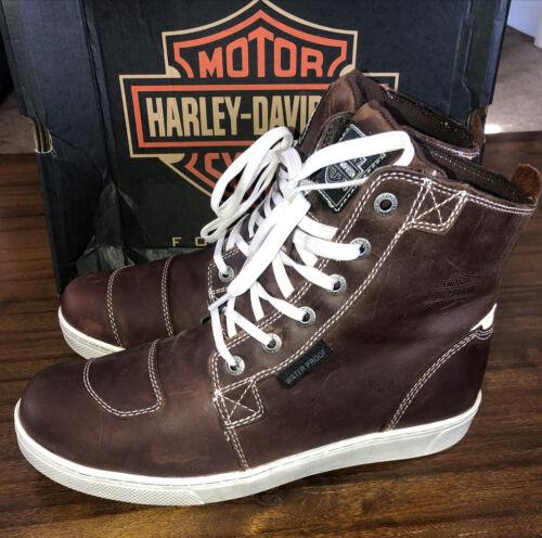 Harley-Davidson Mens Steinman Motorcycle Boots Bro
