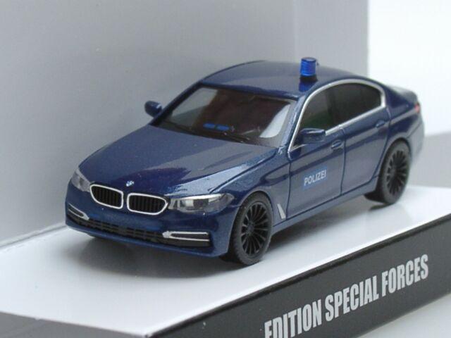 e90 Herpa nº 047203 bmw 3er Limousine policía Baviera-en su embalaje original