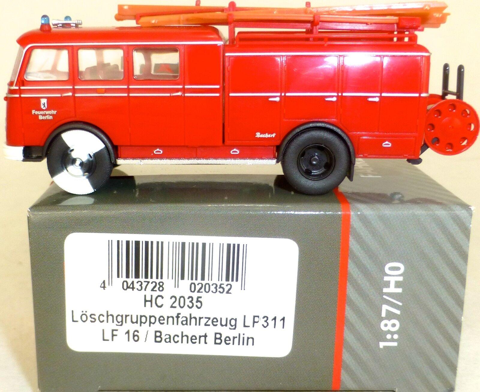 BERLIN Taucher Löschgruppenfahrzeug LP311 LF16 Bachert HEICO HC2035 1 1 1 87 LB4 µ  63d955