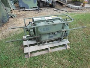 Details about MILITARY SURPLUS SMOKE SCREEN GENERATOR M3A4 PULSE JET      NOT WORKING     US
