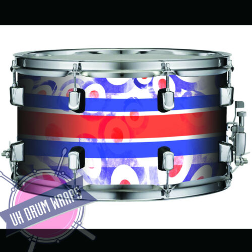 "CUSTOM DRUM WRAP  /"" MOD TARGET /"" ALL SIZES PLASTC"