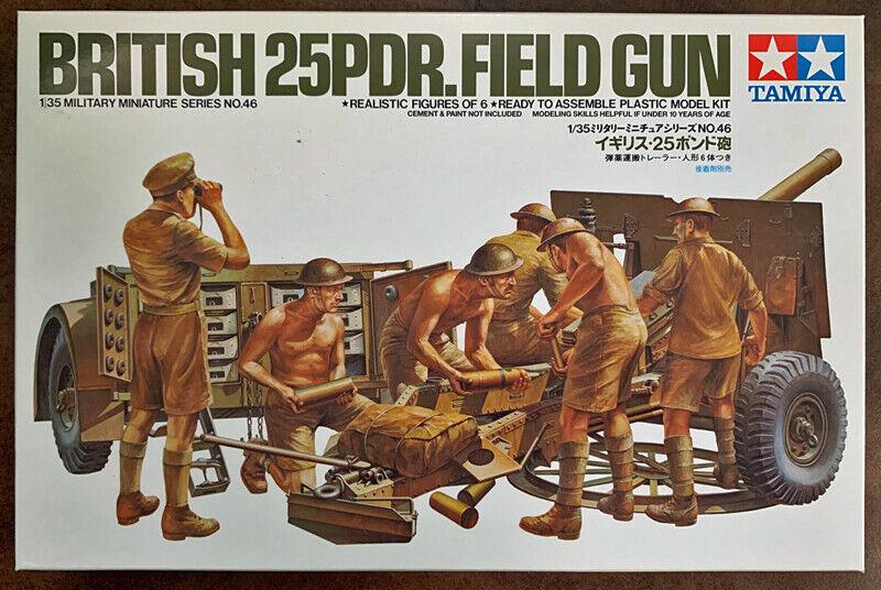Eduard 1//35 25 pdr field gun For Tamiya Kits # 35473