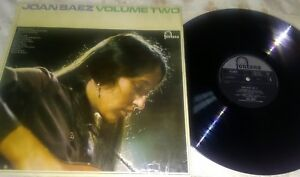 Joan-Baez-Vinyl-LP-Volume-Two-Fontana-TFL-6025-UK-VG-Fair