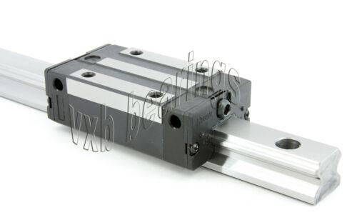 "15mm wide Rail 30/""inch Long Guideway System Square Slide Unit CNC Linear Motion"