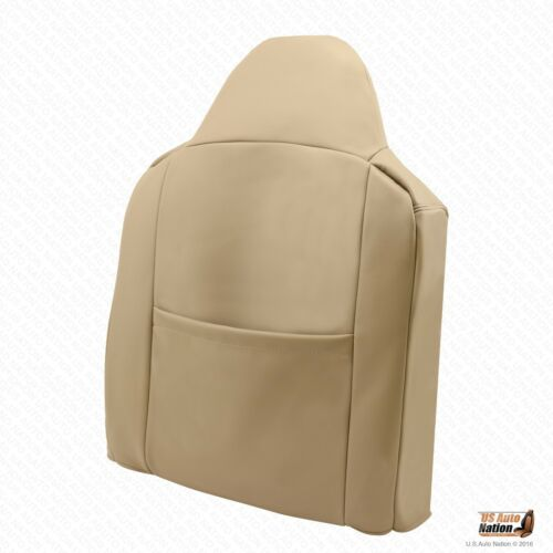 02-07 Ford F250 F350 F450 Lariat Driver Side Leather Lean Back Seat Cover TAN