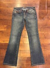 MISS ME ODESSA BOOT CUT SEXY LADIES JEANS - LOW RISE SIZE 27