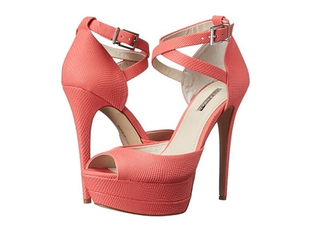 risparmia il 50% -75% di sconto BCBGeneration Vix2 Starfish Etched Leather Heels donna Dimensione 10 10 10 M  100% autentico