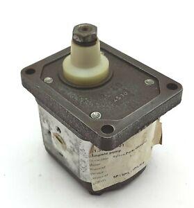 Marzocchi HP2D-6 Hydraulic Gear Pump 310 bar / 4000 rpm...