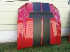 OEM Ford 2013 2014 Mustang Shelby GT500 Hood New Take-Off w/ Quilt Red