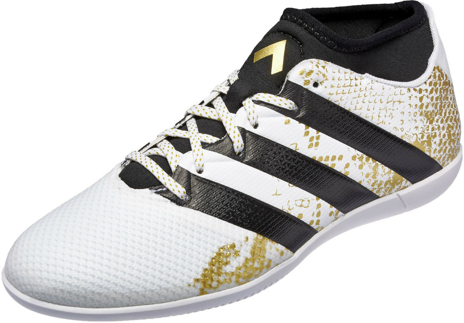 ADIDAS ACE 16.3 PRIMEMESH IN WHITE SOCCER SNEAKERS MEN SHOES WHITE IN AQ3422 SIZE 11 NEW 9e2c04