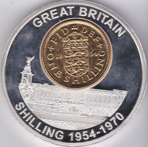 Image Is Loading History Of British Currency Proof Like One Shilling