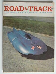ROAD-and-TRACK-November-1957-Jaguar-XK150-Denzel-1300-Mercedes