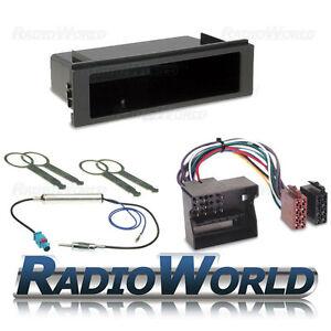 VW-Transporter-T5-Singolo-Din-Stereo-Surround-Kit-di-montaggio-fascia-CABLAGGIO-adattatore