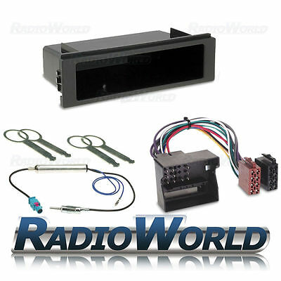 CD Stereo Fitting Kit Fascia Wiring Harness Aerial For VW Transporter T5 RCD200