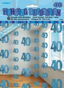 GLITZ-BLUE-6-HANGING-DECORATIONS-40TH-BIRTHDAY-1-5M-HANGING-DECORATION-PARTY