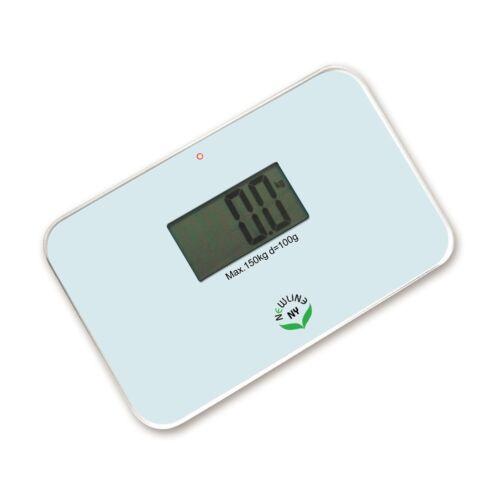 NewlineNY Super Mini Travel Bathroom Scale SBB0638SM-WH Off White
