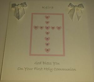 HANDMADE-PERSONALISED-FIRST-HOLY-COMMUNION-CARD-HEART-CROSS-GIRL-OR-BOY