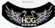 2016 HOG Members Rocker Patch HARLEY DAVIDSON OWNERS GROUP HD MC life
