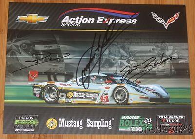 2016 Action Express Racing #5 Chevy Corvette DP Petit Le Mans IMSA WTSC postcard