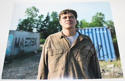 Ingenious Actor Michael Shannon Signed Authentic 'take Shelter' 11x14 Photo W/coa Proof Photographs