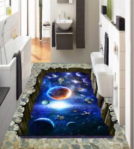 3D piedras Universo Papel Pintado Mural Parojo Impresión de suelo 42 5D AJ Wallpaper Reino Unido Limón