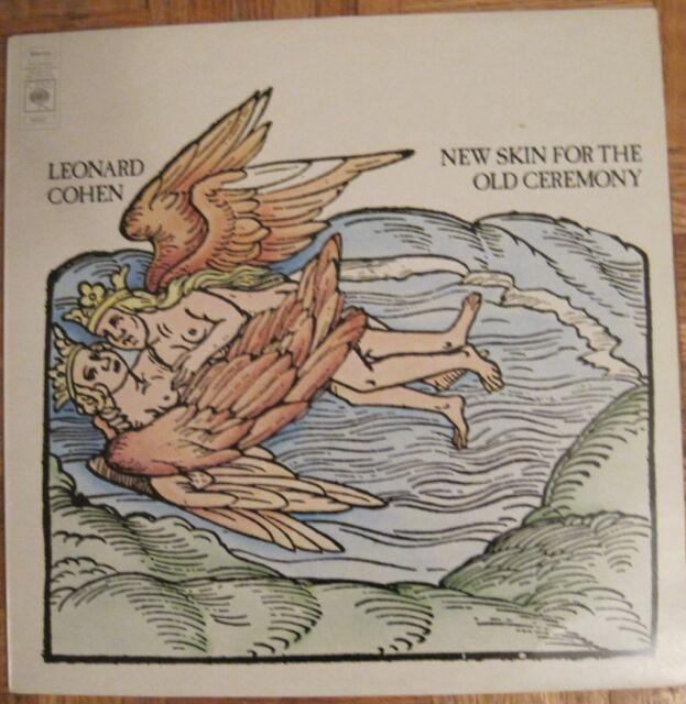 LEONARD COHEN - New Skin for the Old Ceremony - LP - UK -Folk Rock oop Rare L@@K