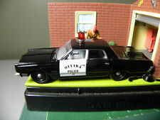 1967 PLYMOUTH FURY II   OTTAWA POLICE CAR     JOHNNY LIGHTNING    1:64 DIE-CAST