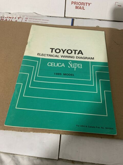 1985 Toyota Celica Supra Wiring Diagrams Electrical