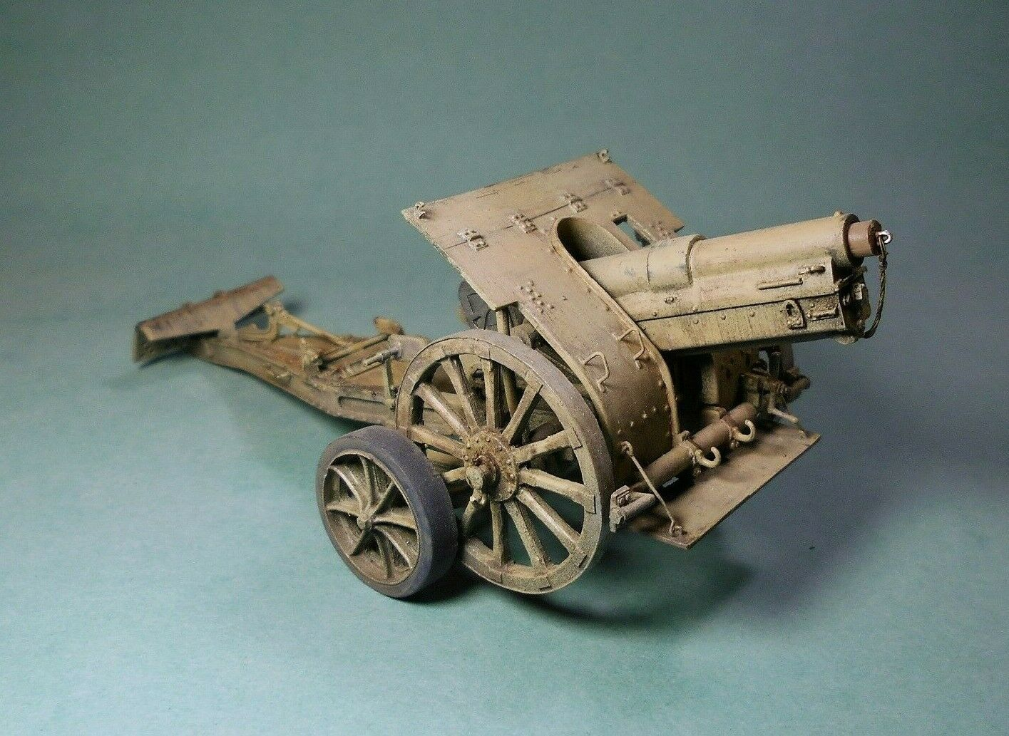 Crielmodel r029 italian howitzer obice skoda da 149 13 resin 1 35 CRI. el criel