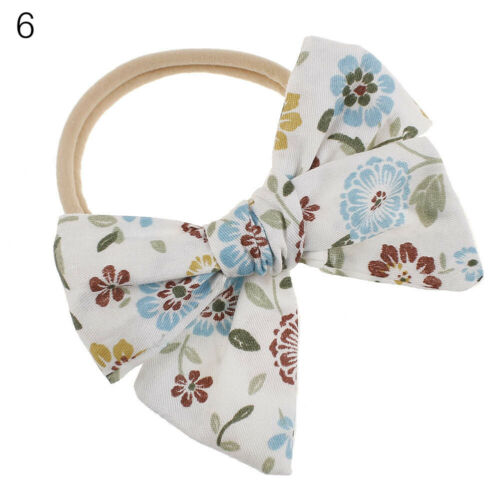 Baby Girl Elastic Hairband Children Big Bow Headband For Kids Flower Headband