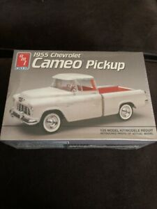 AMT-Ertl-Factory-Sealed-1955-Chevrolet-Cameo-Pickup-1-25-Model-Kit-6053