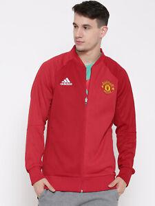 Adidas Herren Manchester United Fc Heim Fußball Hymne Jacke Neu Ap1793 Xl, 2xl