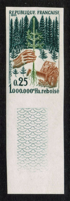 FRANCE SCOTT#1133 MINT NEVER HINGED IMPERFORATE STAMP