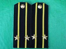 Soviet USSR Navy Force Officer 2nd Rank Captain Shirt Uniform Epaulets.