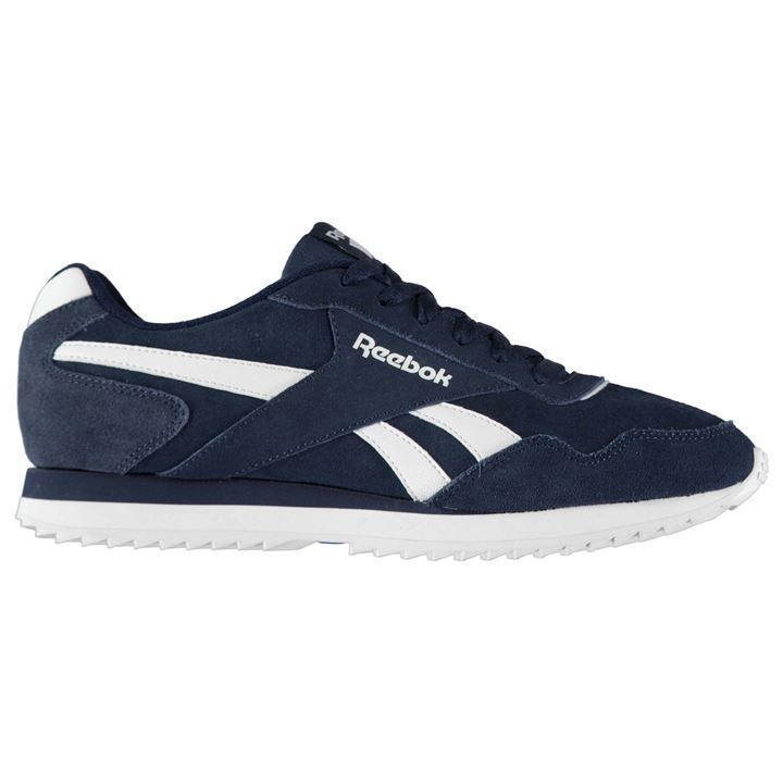 Reebok Royal Glide Ripple Suede Trainers Mens UK 10 US 11 EUR 44.5 cm 29 774 -