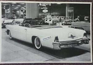 1957-Continental-Mark-II-2-door-convertible-12-x-18-034-Black-amp-White-Picture