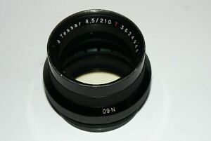 CARL ZEISS JENA TESSAR 4.5/21 cm LARGE FORMAT GERMAN LENS SN3623944