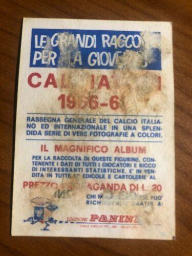 FIGURINA CALCIATORI PANINI 1966//67 COPPA DEI CAMPIONI OTTIMA DA RECUPERO