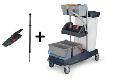 Numatic Doppelfahreimer ProCar 1A + Mopp-Set MSG-0 Reinigungswagen Putzwagen