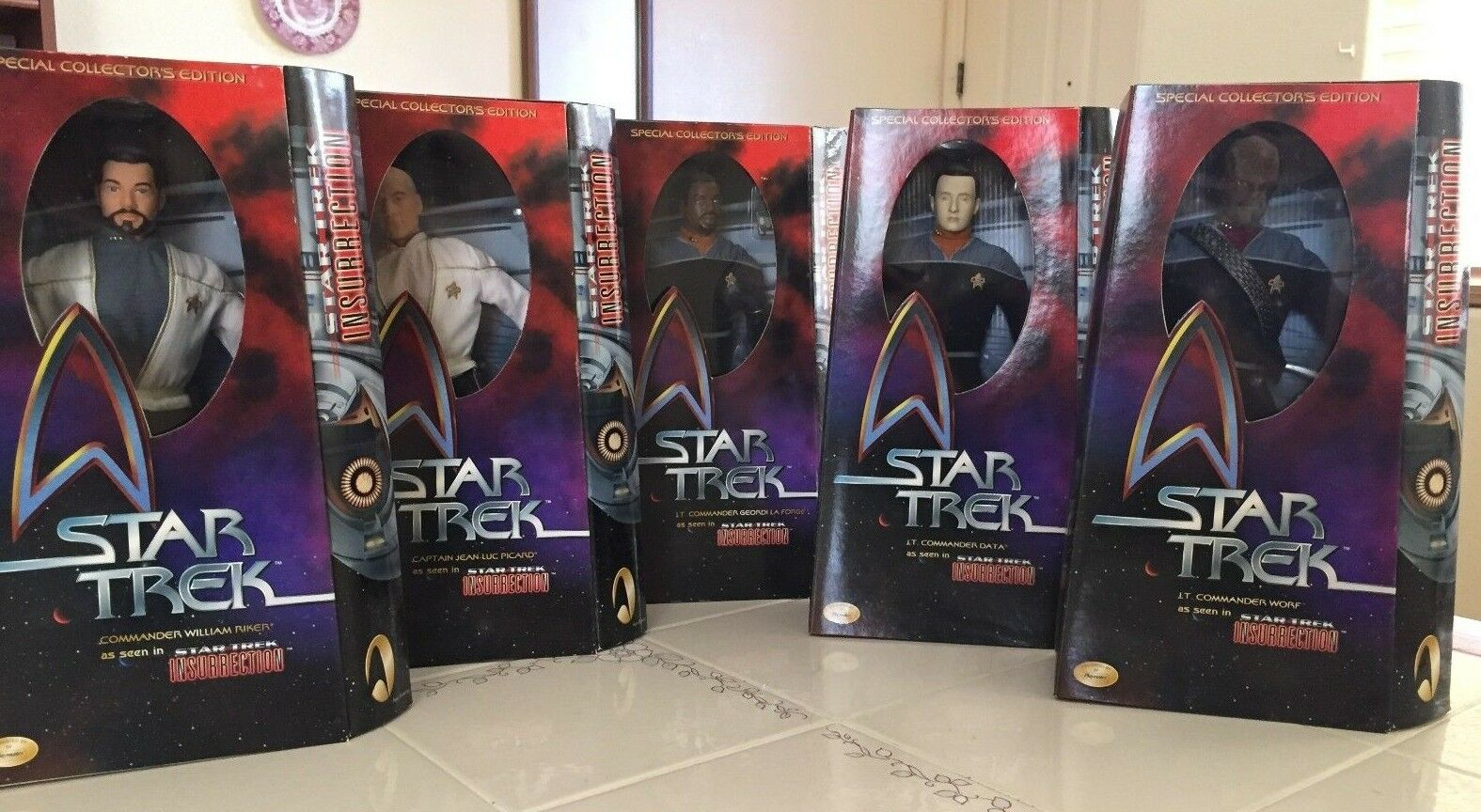 Star Trek Insurrection The TNG Movie 12 inch Action Figure Doll Special Edition