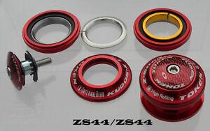 TOKEN-Steuersatz-1-1-8-034-semi-integriert-mit-Industrie-Lager-44mm-ZS44-ZS44-rot