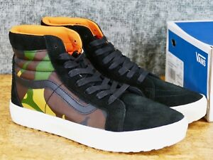 063736afe8 Vans Vault Sk8-Hi MTE Cup LX suede canvas British Ca London ...