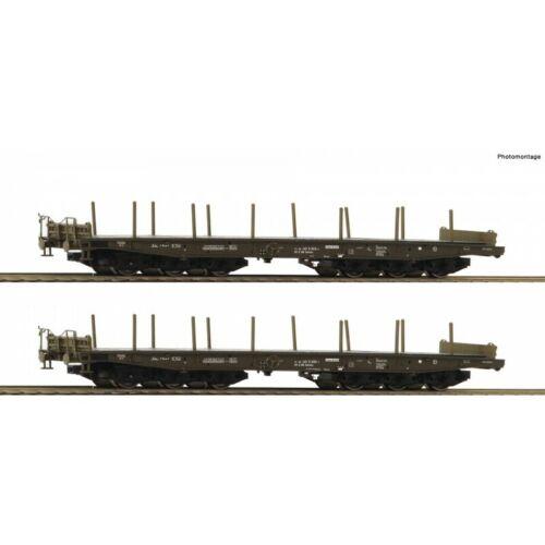 Roco-76074 2tlg Set Schwerlastwagen NEU OVP