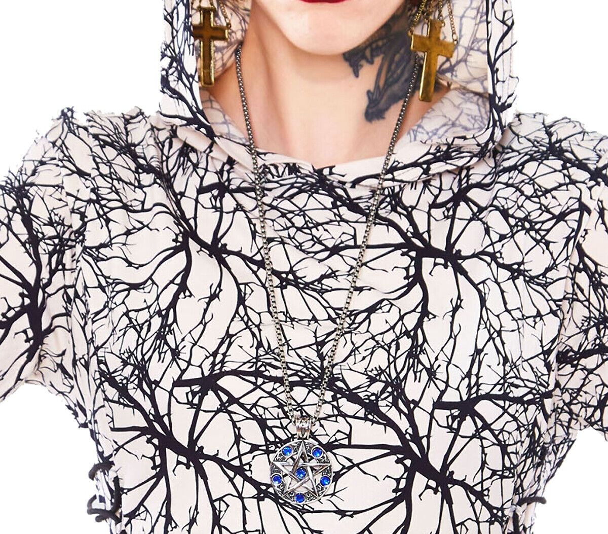 Jawbreaker Athena Pentagram Necklace