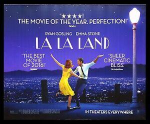 la la land cinemasterpieces original subway movie poster 2016 ryan gosling ebay. Black Bedroom Furniture Sets. Home Design Ideas