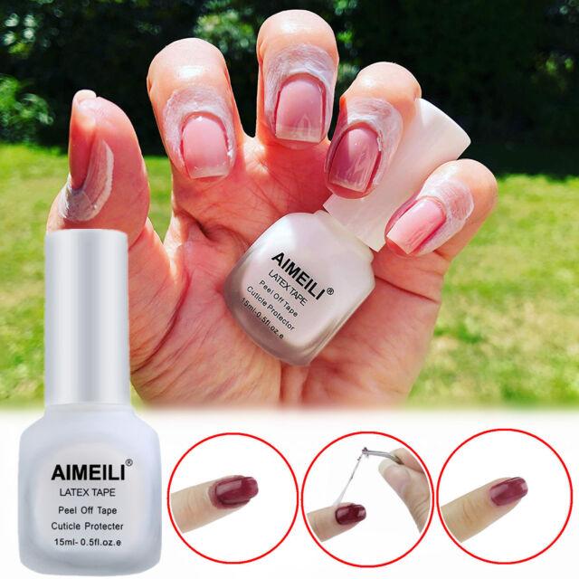 Aimeili Latex Peel Off Tape Polish Barrier Skin Protector 15ml Us
