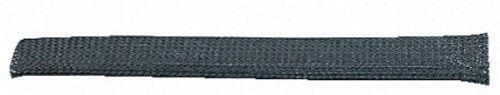 CABLE SHEATH SLEEVE BLACK BRAID EXPANDABLE 5M x 5mm NEW BNIP