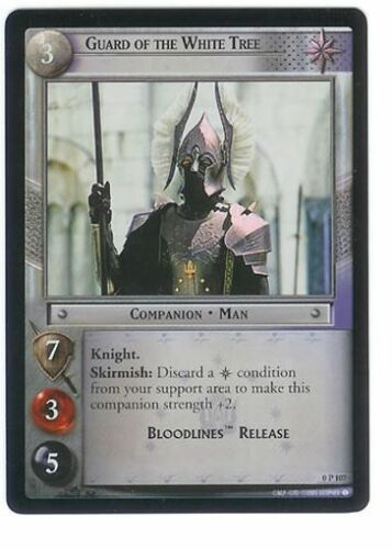 LOTR TCG Guard Of The White Tree PROMO 0P107 EX//NM