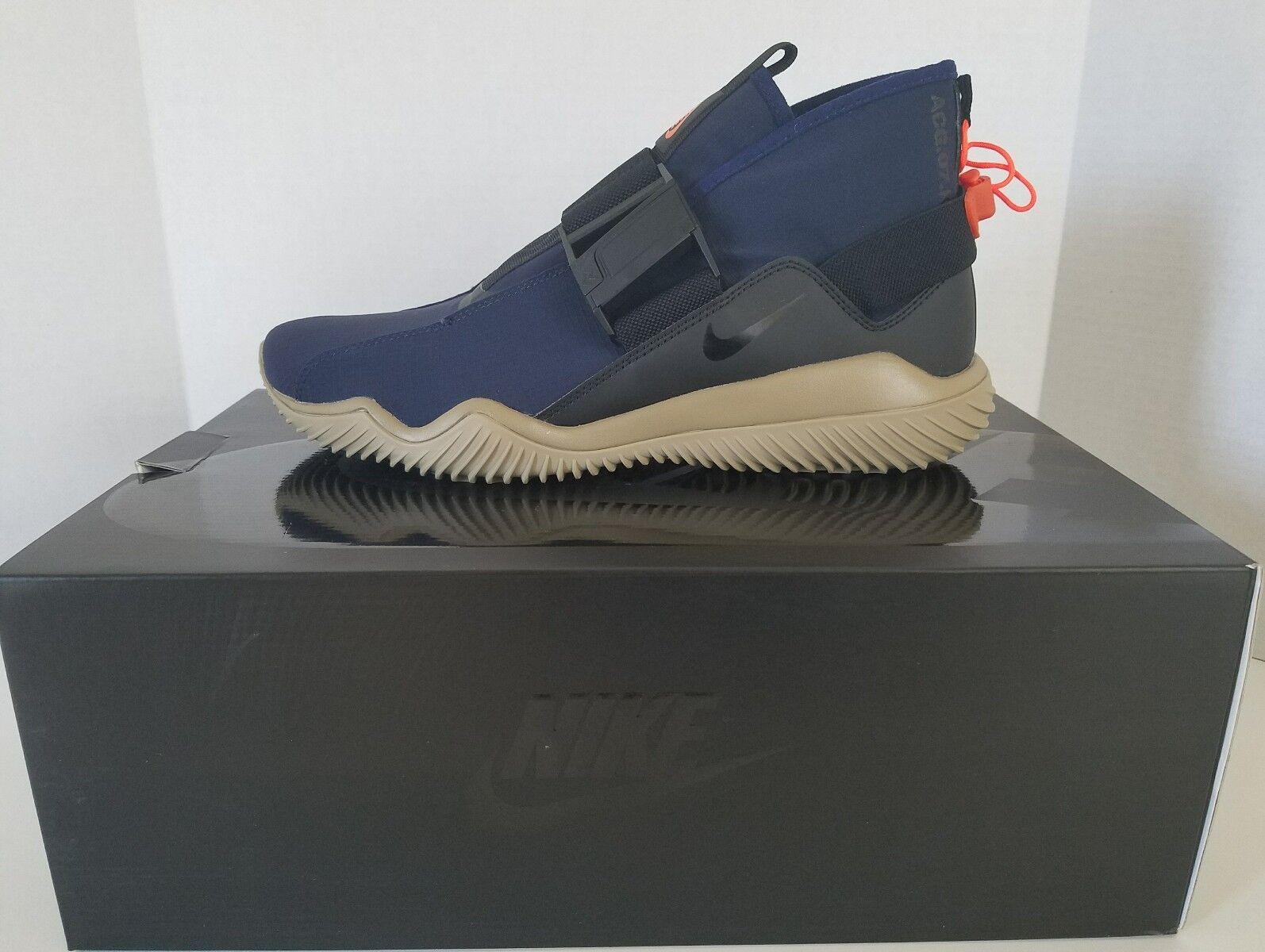 Nike acg kmtr komyuter 07 obsidian / schwarze khaki 902776-401 sz 10