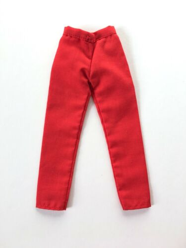 Sindy 1984 Casuals Mix Match red fitted waist trouser fit Barbie doll SHIMMYSHIM